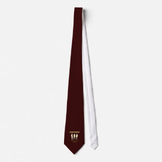 Glamour fashion models tie