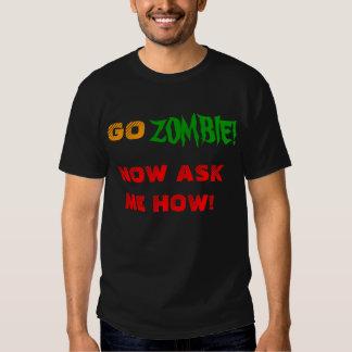GO ZOMBIE T-SHIRTS