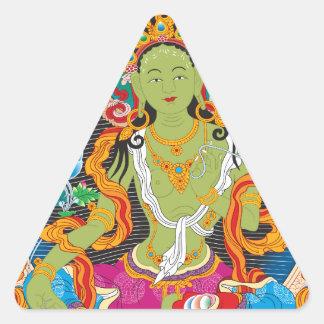 Goddess Triangle Sticker