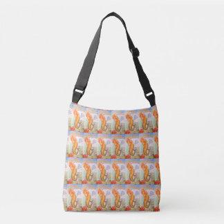 golden hair mermaids tote bag