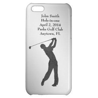 Golf Hole-in-one Commemoration Customizable Case For iPhone 5C
