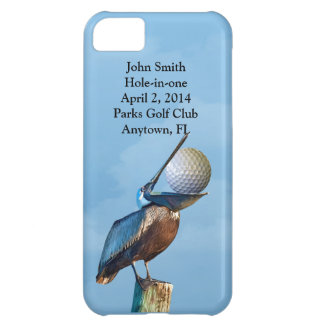 Golf Hole-in-one Commemoration Customizable iPhone 5C Cases