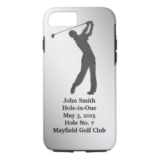 Golf Hole-in-one Commemoration Customizable iPhone 7 Case