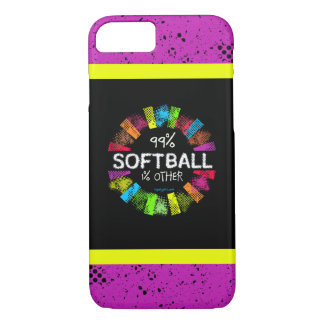 Golly Girls: 99 Percent Softball 1 Percent Other iPhone 7 Case