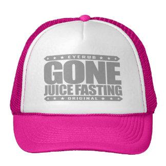 GONE JUICE FASTING - I Love Cleansing Juice Detox Trucker Hat