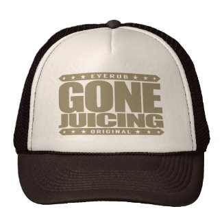 GONE JUICING - Juice Cleansing, Detox and Fasting Trucker Hat