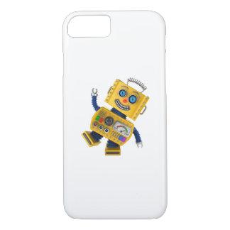 Goofy yellow toy robot iPhone 7 case