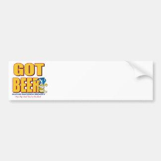 GOT-BEER-Crazy Bumper Sticker