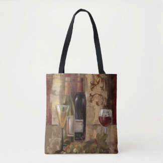 Graffiti and Wine Tote Bag