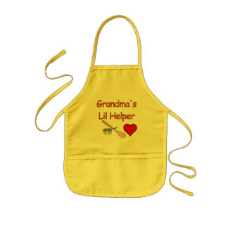 Grandma's Lil Helper Kids Apron