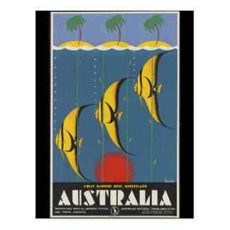 Great Barrier Reef Australia Postcard