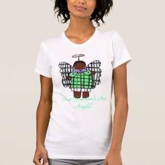 Great Grandma's Are Angels! (African American) T-shirt
