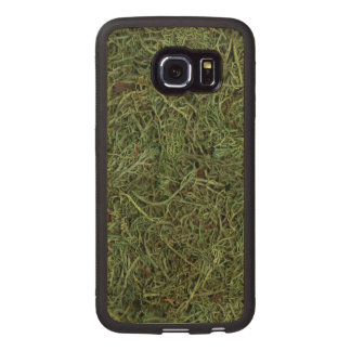 Green Forest Moss Nature Outdoors Wood Phone Case