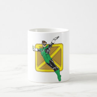 Green Lantern Extends Arms Classic White Coffee Mug