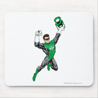 Green Lantern - Fully Rendered,  with lantern Mouse Pad