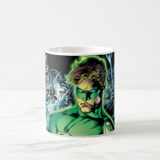 Green Lantern Surrounded - Color Classic White Coffee Mug