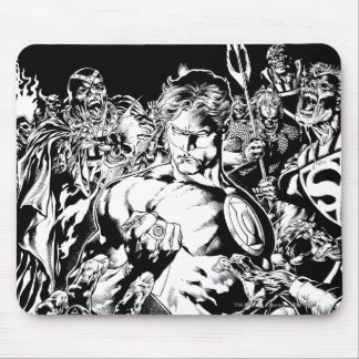 Green Lantern Surrounded Mouse Pad