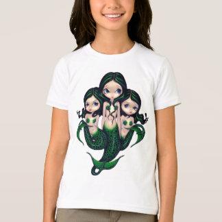 Green Mermaid Triplets Shirt