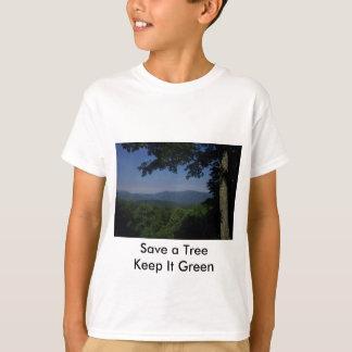 Green Message Tshirts