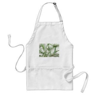 Green prints - green Print green plant Standard Apron