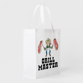 Grill Master Reusable Grocery Bag