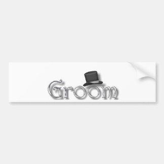 ♥ Groom ♥ for Bachelor Party, Rehearsal Dinner ♥ Bumper Sticker