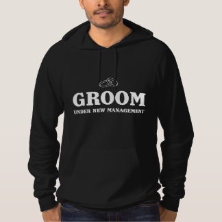 Groom Under New Management Hooded Pullovers