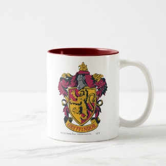Gryffindor Crest Two-Tone Coffee Mug