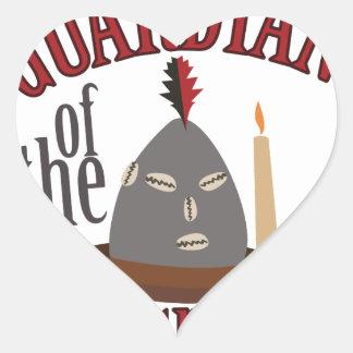 Guardian Of Crossroads Heart Sticker