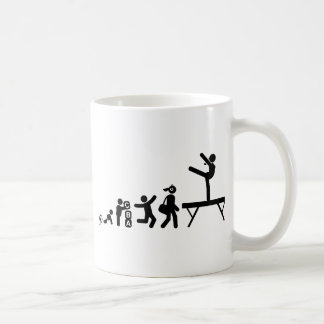 Gymnastic - Balance Beam Classic White Coffee Mug