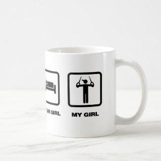 Gymnastic - Still Rings Classic White Coffee Mug