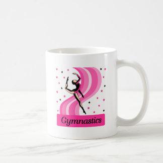 Gymnastics Leap Classic White Coffee Mug