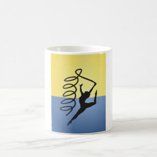 Gymnastics Ribbon Routine Mug
