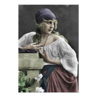 Gypsy Girl Photo Art