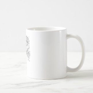 H.P. Lovecraft's monsters Classic White Coffee Mug