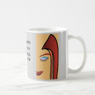 Hair Art Classic White Coffee Mug