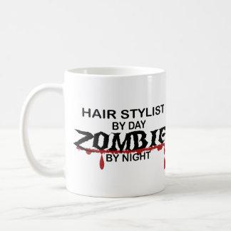 Hair Stylist Zombie Classic White Coffee Mug