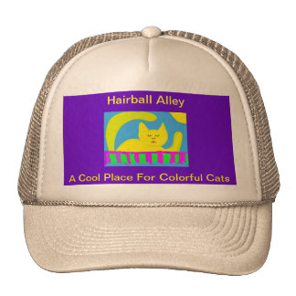 Hairball Alley Cool Cap Trucker Hat