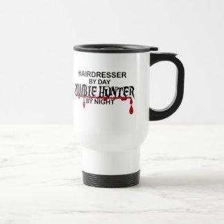 Hairdresser Zombie Hunter 15 Oz Stainless Steel Travel Mug