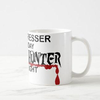 Hairdresser Zombie Hunter Classic White Coffee Mug