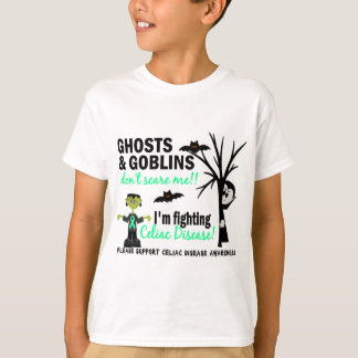 Halloween 1 Celiac Disease Warrior Shirt