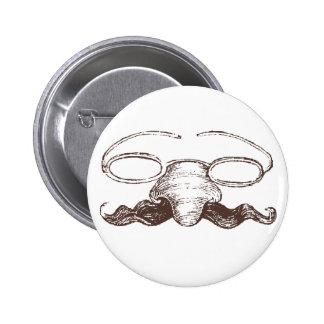 Halloween Disguise Button