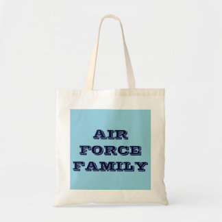 Handbag Air Force Family Budget Tote Bag