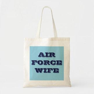 Handbag Air Force Wife Budget Tote Bag