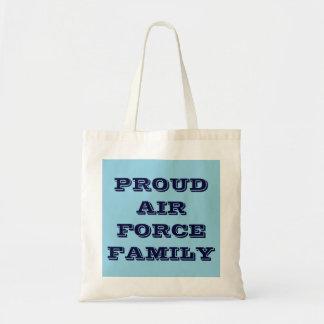 Handbag Proud Air Force Family Budget Tote Bag