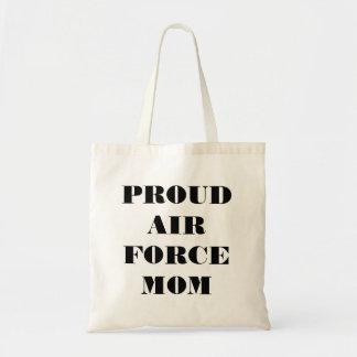 Handbag Proud Air Force Mom Budget Tote Bag