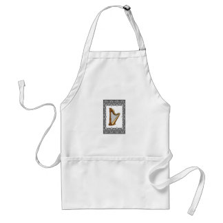 harp in a rectangle standard apron