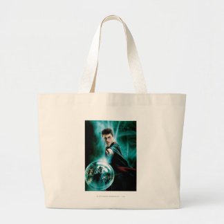 Harry Potter and Voldemort Only One Can Survive Jumbo Tote Bag