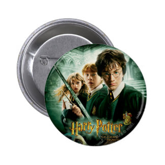 Harry Potter Ron Hermione Dobby Group Shot 2 Inch Round Button