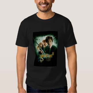 Harry Potter Ron Hermione Dobby Group Shot Shirts